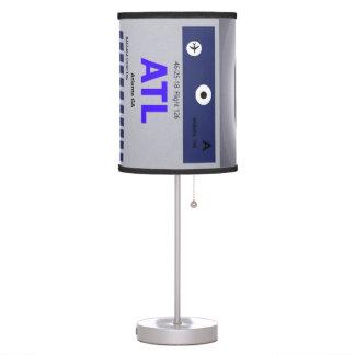 ATL CODE & SKYLINE TABLE LAMP