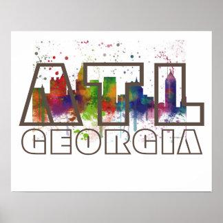 ATL GEORGIA - Poster