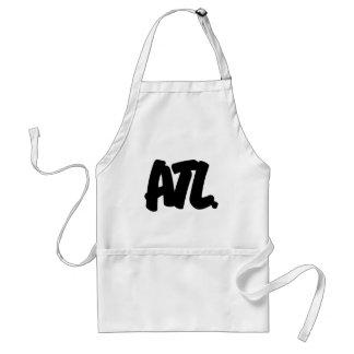 ATL Letters Adult Apron