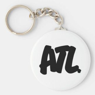 ATL Letters Keychain