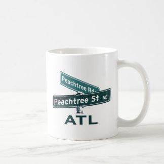 ATL Peachtree Signs Classic White Coffee Mug