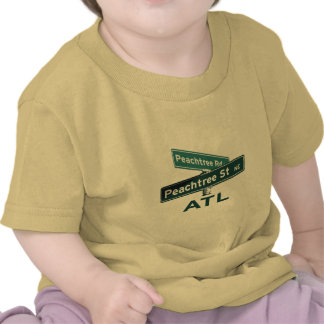 ATL Peachtree Signs Tshirts