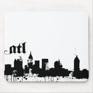ATL put on for your city design Mouse Pad