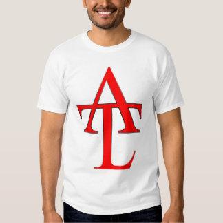 ATL Red Logo White Tee