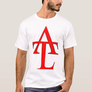 ATL Red Logo White Tee