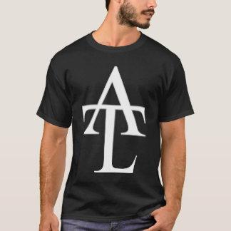 ATL White Logo Black Tee