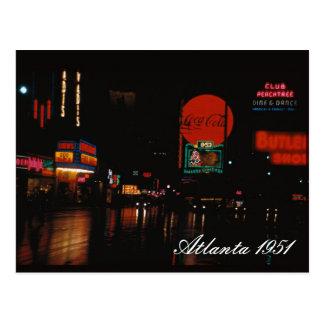 Atlanta 1951 Postcard