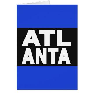 Atlanta 2 Blue Card