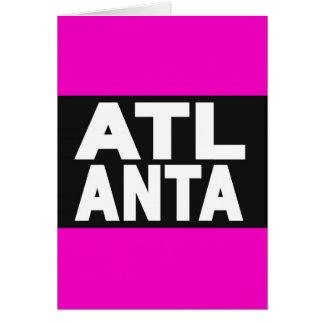 Atlanta 2 Pink Card