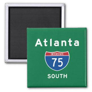 Atlanta 75 iman de nevera
