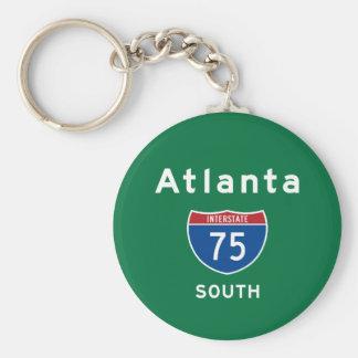 Atlanta 75 llavero redondo tipo pin