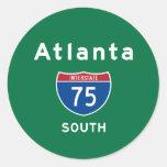Atlanta 75 pegatinas