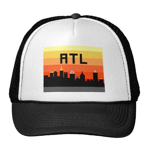 Atlanta 8-Bit Skyline ATL Trucker Hats