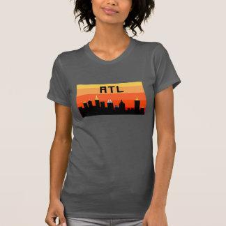 Atlanta 8-Bit Skyline ATL T-shirt