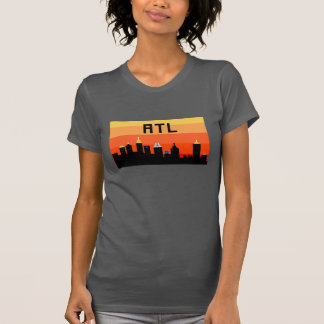 Atlanta 8-Bit Skyline ATL Tee Shirts