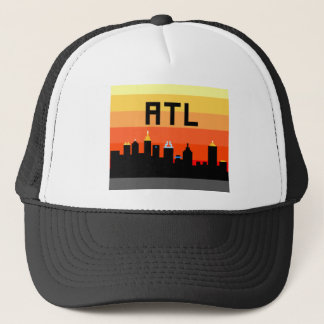 Atlanta 8-Bit Skyline ATL Trucker Hat
