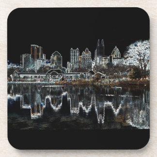 Atlanta Aglow City Skyline Coasters