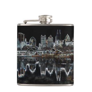 Atlanta Aglow City Skyline Flask