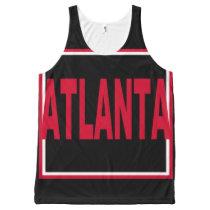 Atlanta All-Over Printed Unisex Tank
