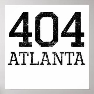 Atlanta apenada 404