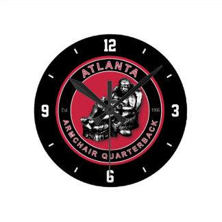 Atlanta Armchair Quarterback Wall Clock