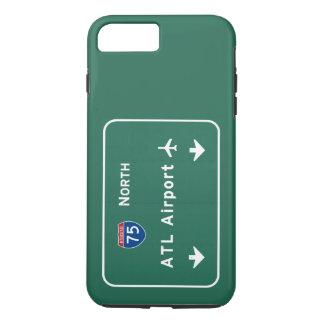 Atlanta ATL Airport I-75 N Interstate Georgia - iPhone 8 Plus/7 Plus Case