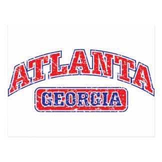 Atlanta atlética postales