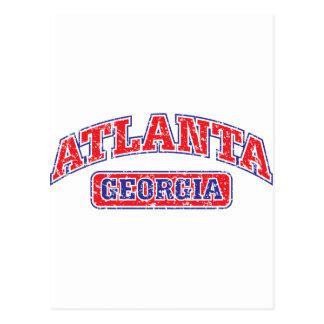Atlanta atlética tarjetas postales