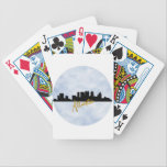 "Atlanta Bicycle Playing Cards<br><div class=""desc"">Atlanta, Skyline, watercolor art,  decor, art,  handmade,  watercolor painting,  illustration,  art</div>"