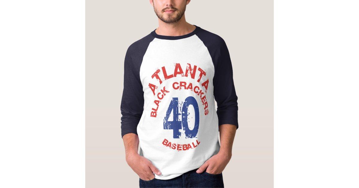 Atlanta Black Crackers Alternate T Shirt Zazzle
