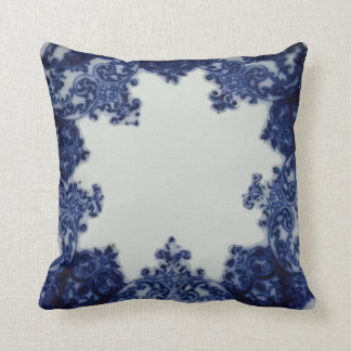 Atlanta Blue Throw Pillow