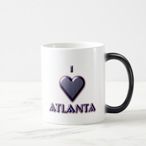 Atlanta -- Blue with glow Coffee Mug