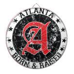 Atlanta born and raised black dartboards
