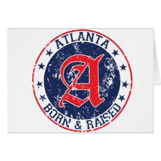 Atlanta born and raised blue cards