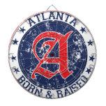 Atlanta born and raised blue dart boards