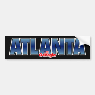 Atlanta Bumper Bumper Sticker