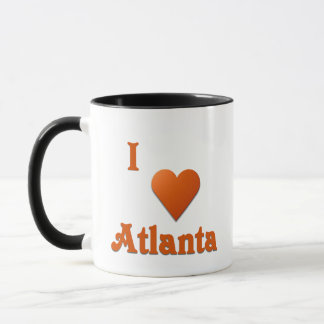 Atlanta -- Burnt Orange Mug