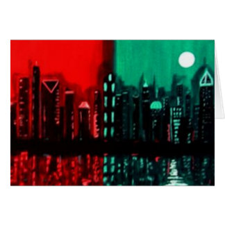 """Atlanta"" by Linda Powell~Original  Notecard"