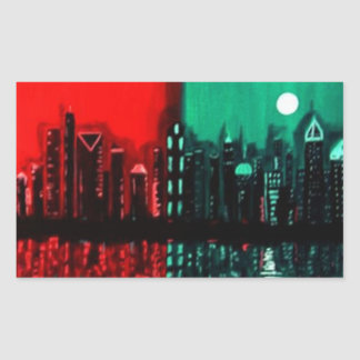 """Atlanta"" by Linda Powell~Original Sticker"