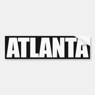 Atlanta Pegatina Para Coche