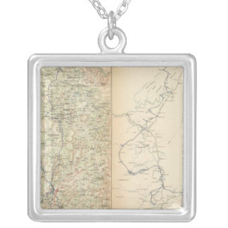 Atlanta Campaign, 2nd epoch Silver Plated Necklace