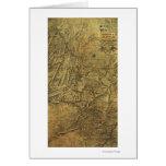 Atlanta Campaign - Civil War Panoramic Map Card