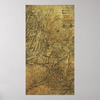 Atlanta Campaign - Civil War Panoramic Map Posters
