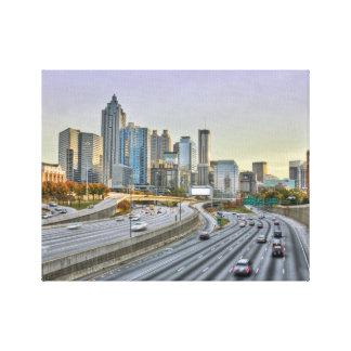 Atlanta céntrica lona envuelta para galerias