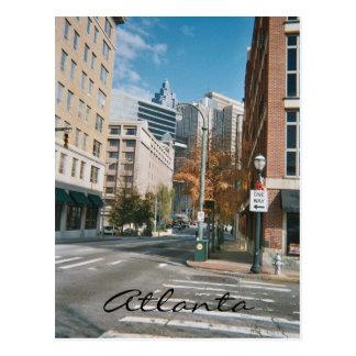 Atlanta céntrica tarjeta postal