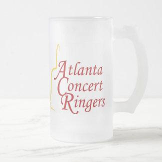 Atlanta Concert Ringers frosted mug