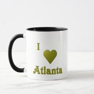 Atlanta -- Deep Green Mug