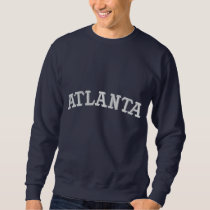 ATLANTA EMBROIDERED SWEATSHIRT