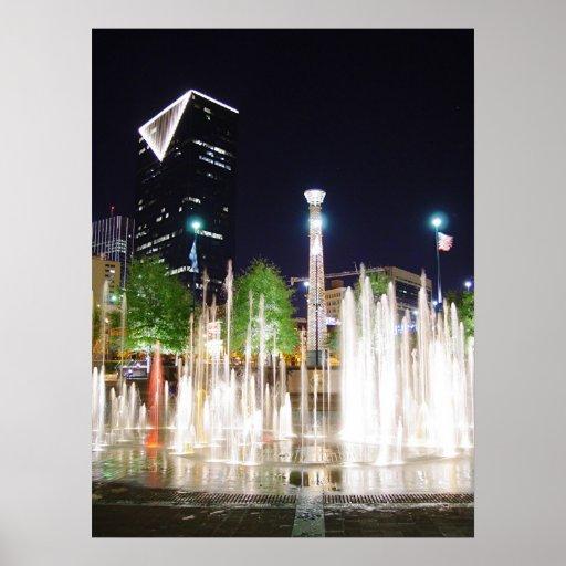Atlanta en la noche poster