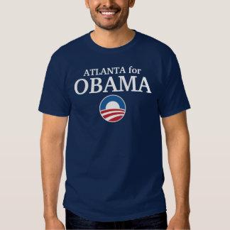 ATLANTA for Obama custom your city personalized T Shirts